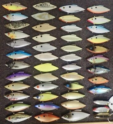 LOT BILL LEWIS SLAPSTICK LURES FACTORY SECONDS FISHING BASS TROUT WALLEYE