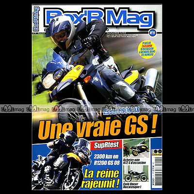 Box'r Mag N°21 R10 F800 R1200 Gs S Rallye K1200 Les Records Bmw Gs Story 2008