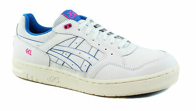 ASICS Mens Gel-Circuit White/Directoire Blue Casual Tennis Sneaker Shoes