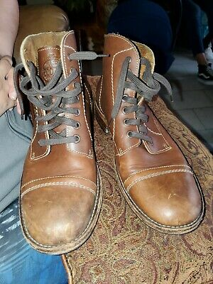 1acd84f69b2 WOLVERINE 1000 MILE Rockford Winchester Wingtip Brogue Boots Brown ...