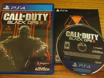 PS4 Call of Duty: Black Ops III (SONY PlayStation 4,2015) Free Shipping