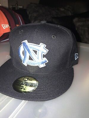 new york 1b8d4 ce2f2 North Carolina Tar Heels New Era Fitted Hat Cap 7 3 8
