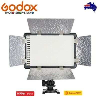 AU STOCK * Godox LED308CII Video LED Light (3300 - 5600K) 433MHZ 16 channels
