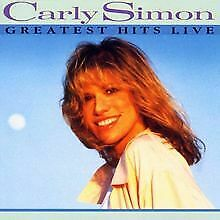 Greatest Hits Live von Simon,Carly | CD | Zustand gut