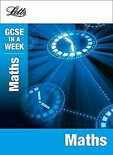 Letts GCSE in a Week Revision Guides - Maths von Ma... | Buch | Zustand sehr gut