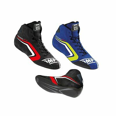 OMP Tecnica Evo Race FIA Approved Racing Rally Mid-Cut Suede Boots