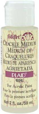 FolkArt Crackle Medium 2oz 028995006944