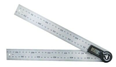Shinwa Rules Digital Protractor 30cm with Hold Function 62496 from Japan Tool FS
