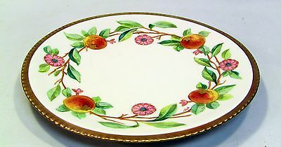 + SIGNED Hand Painted LIMOGES FLAMBEAU French Fine Porcelain Plate Gilt LDBC