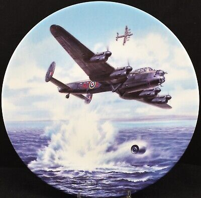 Royal Worcester Dambusters Plane Plate Hold At 60ft