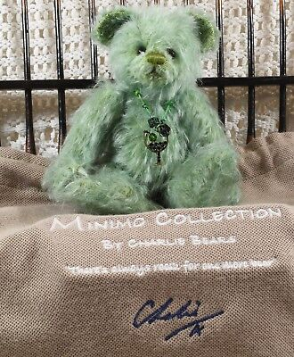 Rare Charlie Bears Minimo Isabelle Lee LE Bear~ Cocktail Collection ~ Mojito
