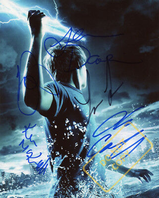 REPRINT RP 8.5x11 Signed Photo:  Percy Jackson: Sea of Monsters Cast
