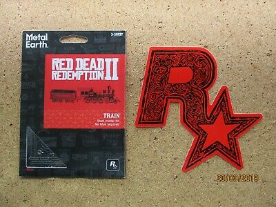 RDR2 Red Dead Redemption 2 TRAIN LOCOMOTIVE 3D Model Limited Edition + STICKER