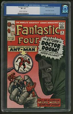 Fantastic Four 16.  Doctor Doom And Ant-Man. Fabulous Copy. Near Perfect Pages