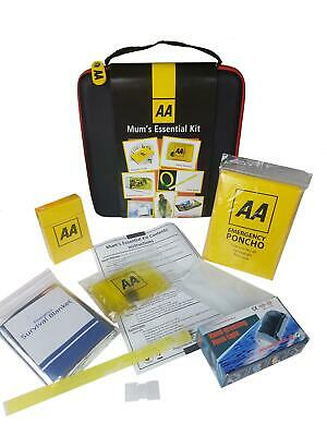 AA Mum Essential Travel Car Kit Emergency Breakdown Safety Entertainment Gift