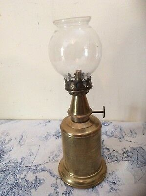 Vintage French Pigeon Lamp Oil Light (505)