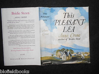 ORIGINAL VINTAGE Leslie Wood DUSTJACKET (ONLY) The Pleasant Lea by Anne Crone