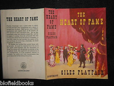 ORIGINAL ALMA K LEE DUSTJACKET (ONLY) for The Heart of Fame by Giles Playfair