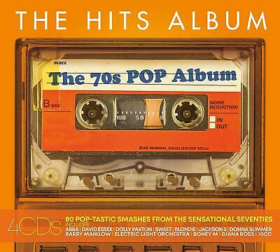 The Hits Album The 70's Pop Album CD Box Set New 2019