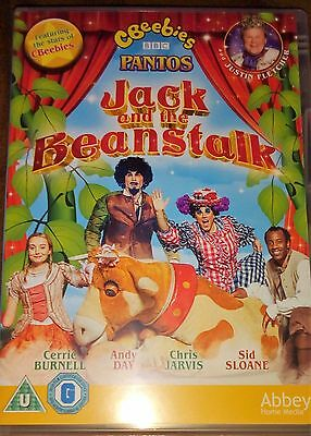 CBeebies Panto Jack and the Beanstalk DVD Justin Fletcher Childrens Pantomime