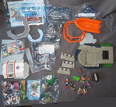 Large lot of ~100 pcs Playmobil Figures & Accessories 3 Different Lots