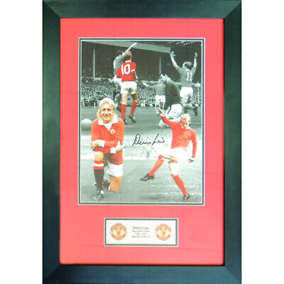 Denis Law Aurograph  (Framed)