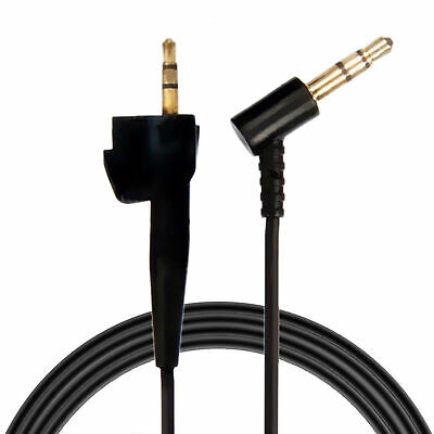 For Bose Around Ear AE2/AE2i/AE2w Headphones Audio Cable-Black Replacement Wire
