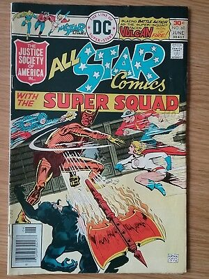 1976 Bronze Age DC All Star Comics 60 Justice Society Of America JSA  Power Girl