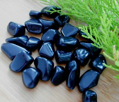 Apache Tears Tumbled Stones - You Choose Quantity - from USA 15mm to 18mm AAA