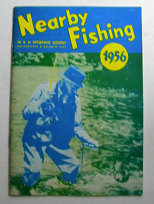 1956 Nearby Fishing M&H Sporting Goods Co Catalog Fishing Book