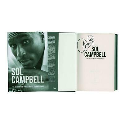 Sol Campbell  Autograph Signed Book