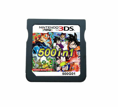 500 in 1 Game Games Cartridge Multicart For Nintendo DS NDS NDSL NDSi 2DS 3DS US