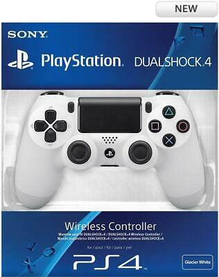 Sony DualShock 4 Glacier White Wireless Controller For PS4 Consoles New