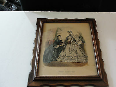 La  Mode Illustree- Leroy Imp Paris- Victorian Ladies Vintage Reproduction Print