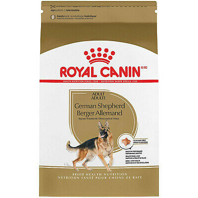 NEW 30-lbs ROYAL CANIN BREED HEALTH NUTRITION German Shepherd Adult dry dog food