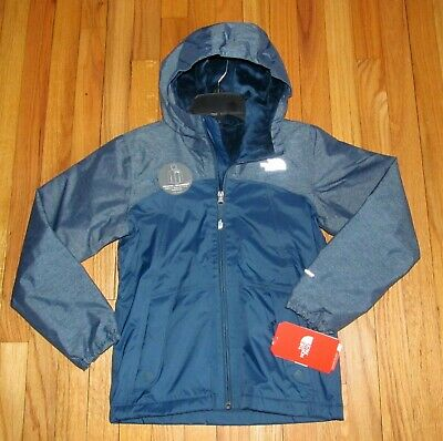 2d109b0e1 THE NORTH FACE Boys Glacier Full Zip Hoodie Jacket Tnf Black Youth ...