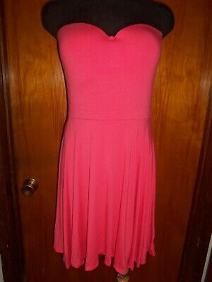 b9fb1ba2d9b6 ... Pink Halter Summer Dress Sundress Size XS Small.