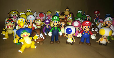 """Super Mario 5"""" Supersize Action Figures - Choice of 19 Different Characters NEW"""