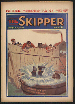 Skipper 33 UK comic grade VG-FN From a significant collection
