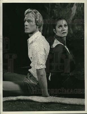 "1978 Press Photo Scene from ""The New Adventures of Wonder Woman"" CBS Television"