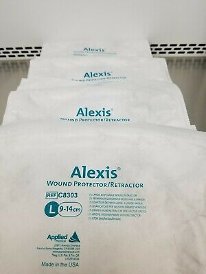 Applied Medical Alexis Wound Protector / Retractor C8303 Large 9-14cm Lot of 4