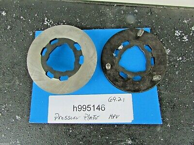Horstman  HPV clutch pressure plate for repair