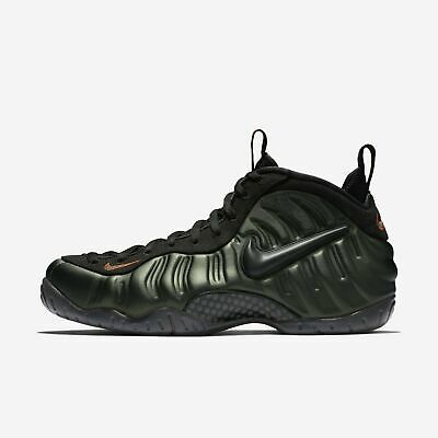 sports shoes aacce 1b32f Nike Air Foamposite Pro Mens (624041-304) Sequoia Black Basketball Shoes  Size 9