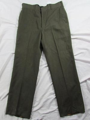 Mint Vtg 90s 1994 US Army Tropical Trousers Pants Measure 34x31 Wool & Polyester