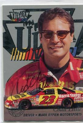 1996 Ultra Racing - CHAD LITTLE - On Card Certified Autograph - NASCAR