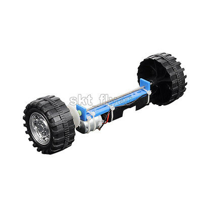 Two Wheels Balanced Electric Driver Car DIY Kits Hobby Robotic Toy Model