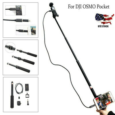 Selfie Stick Accessories Set for DJI OSMO Pocket Handheld Gimbal Stabilizer