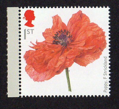 2014 SG 3626a 1st 'Poppy' AOP (Phos Variant) ex 'Great War 1914' PSB DY11 - MINT