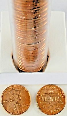 1962-P Lincoln Memorial Penny Roll of 50 cents UNC. P8