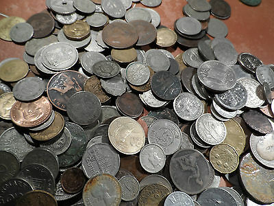 150 world and English Coins.large bulk mixed coins british plus world